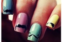 All About Nails / Cool Nail Art Designs and Fantastic Polish Colors / by Heather McKeon