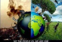 Keep our World GREEN / Protect our planet,  we only have one / by ♍ariposa εїз