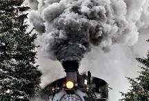 Trains My Grandsons Fav Thing / by Sandra Lenins