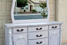 Furniture painting! / by Ashley Camp