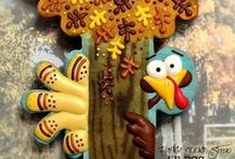 "Cookies Fall Thanksgiving / This board gives you sweet ways to say ""I am thankful for cookies!"" / by pc brown"