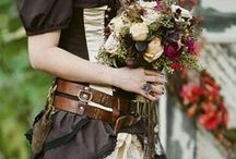 Stylish in Steampunk / DIY wedding flower and wedding decor inspiration board for the steampunk bride. / by Afloral Wedding Flowers