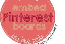 Blogging Tips and Tricks / If you are a blogger and you need new ideas, this is the board for you. / by Amy Hackleman