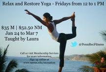 Yoga / by Penn Recreation