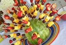 Food on a stick party / by Angie Jones
