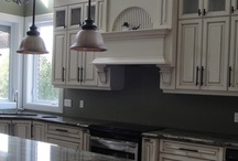 Kitchens... / Kitchen design ideas, beautiful custom kitchens, kitchen islands, custom kitchen cabinets. / by EditWithStyle .