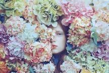 Ophelia / #fashion #style #florals #hamlet / by Gee Demiray