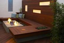 Fire Pits / DIY outdoor fire pits, traditional and contemporary designs. / by EditWithStyle .