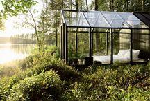 For the Garden and Outdoor Space / Garden, deck, patio, gardenlandscaping, townhouse garden / by Ann-Charlotte Rydberg