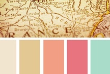 Color Inspirations / Beautiful colour pallets for interior and garden design / by Beth Fava