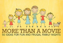 Family Night Ideas / Because having a weekly family night is so important. And because I'm going to start doing it regularly...eventually! / by Kari Fischer