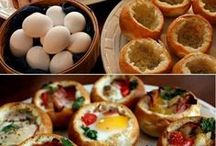 Rise and dine / Breakfast foods / by Ashley Martin