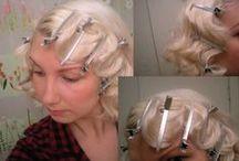Vintage Hair / vintage hair/vintage inspired hair / by Chlo Chlo