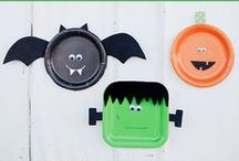 Halloween Fun for Kids! / Fun and spooky crafts, activities, and ideas for kids to have fun and celebrate Halloween! / by Melanie Edwards/modernmami