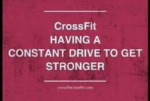 Crossfit: a new kind of drug. / Simply couldn't live without it anymore! / by Ysa Line