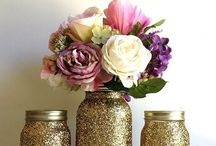 50th wedding anniversary party  / Ideas for decorating the party room, tables, etc  / by Rae Lovejoy