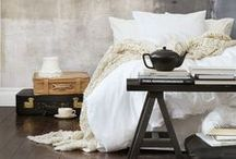 Home: Sleep Sanctuaries / Bedroom decor I love / by Anneke Forbes