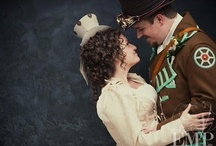 Jen's Steampunk Wedding / Photography ideas and possible outfits. / by Amy Dalrymple