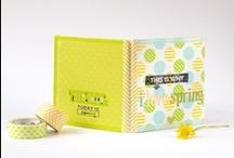 MINIALBUM   spring minialbum / by Miss Sabine