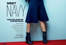 NAVY BLUE / My second favourite colour. Gosh, do I adore head to toe navy blue. / by Amy