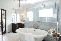 I want a peaceful bathroom / by Ellie Kirkland