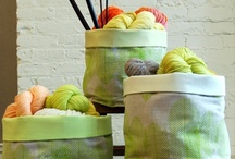 fabric bin,basket and caddy tutorials  / by Heather Southwell