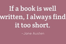 Books / by Jillian Hubers