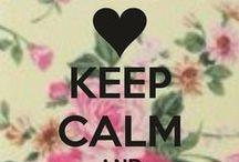 Keep Calm / Dicas de como manter a calma. / by Gisela Campana Pinheiro