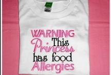 Food allergies / by Dina Ziemba