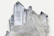Quartz / Various forms of quarts crystal (none jewelry).  / by Marina Landman