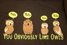 I THINK OWLS ARE COOL  / by Tara Harless