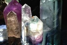 gems and crystals / by Diane Del Vecchio