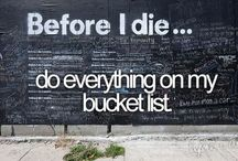 All In Good Time / My bucket list :) / by Sydney Webster