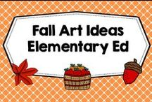 FALL art ideas for classrooms / Fall elementary ed art ideas, Pre-K through 6, classroom, art lessons, photos of projects, lessons. Solo freebies welcome anytime. PLEASE PIN ONE FREEBIE AT THE SAME TIME A PRICED PIN IS ADDED. Photos of covers and products in use make the best pins, please do not pin the tiny covers from online stores, and no photos only. Thank you. / by Carolyn Wilhelm, NBCT, Wise Owl Factory
