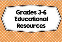 Grades 3-6 Teaching Friends / Lessons and freebies for intermediate grades, elementary school, class organization, grammar, games, graphing, vocabulary, informational blog posts. Photos of covers and products in use make the best pins, please do not pin the tiny covers from online stores, and no photos only. Thank you. / by Carolyn Wilhelm, NBCT, Wise Owl Factory