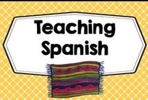 Spanish Resources / Spanish lessons!  PLEASE PIN ONE FREEBIE AT THE SAME TIME A PRICED PIN IS ADDED. Photos of covers and products in use make the best pins, please do not pin the tiny covers from online stores, and no photos only. Thank you. / by Carolyn Wilhelm, NBCT, Wise Owl Factory