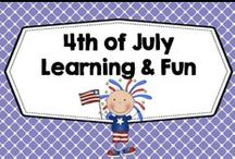 4th of July learning and fun / Mostly for family and summer school fun with a 4th of July theme, arts, crafts, recipes, decor, clip art, family fun, party ideas, safety issues at the 4th, printables. PLEASE PIN ONE FREEBIE AT THE SAME TIME A PRICED PIN IS ADDED. Photos of covers and products in use make the best pins, please do not pin the tiny covers from online stores, and no photos only. Thank you. / by Carolyn Wilhelm, NBCT, Wise Owl Factory