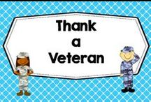 Thank a Veteran / Freebies, printables, information to thank our Veterans! For student and child use, school and home, Memorial Day, Veteran's Day, gratitude. PLEASE PIN ONE FREEBIE AT THE SAME TIME A PRICED PIN IS ADDED. Photos of covers and products in use make the best pins, please do not pin the tiny covers from online stores, and no photos only. Thank you. / by Carolyn Wilhelm, NBCT, Wise Owl Factory