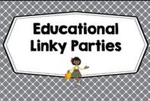 linky parties for education / Linky parties and giveaways for education-- Pinterest Board, Friday Freebies, back to school, monthly, seasonal, literacy, math, science, end of school year. Photos of covers and products in use make the best pins, please do not pin the tiny covers from online stores, and no photos only. Thank you. / by Carolyn Wilhelm, NBCT, Wise Owl Factory