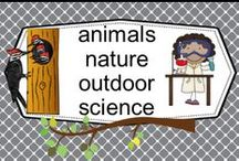 animals nature outdoor science / Let's get the children outside more! PLEASE PIN ONE FREEBIE AT THE SAME TIME A PRICED PIN IS ADDED. Photos of covers and products in use make the best pins, please do not pin the tiny covers from online stores, and no photos only. Thank you.Informational blog posts welcome.  / by Carolyn Wilhelm, NBCT, Wise Owl Factory