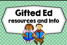 Gifted Ed Resources and Info / Gifted ed materials, resources, blog posts, information, organizations, K-8, games, puzzlers, vocabulary, informational reading for teachers, information for parents, talented. PLEASE PIN ONE FREEBIE AT THE SAME TIME A PRICED PIN IS ADDED. Photos of covers and products in use make the best pins, please do not pin the tiny covers from online stores, and no photos only. Thank you. / by Carolyn Wilhelm, NBCT, Wise Owl Factory