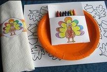 K I D S | C R A F T S | T H A N K S G I V I N G / Thanksgiving Crafts for Kids / by illistyle
