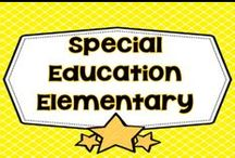 Special Education Elementary / This board is dedicated to Special Education at the elementary level, and is for free and prices teaching resources, articles, and informational blog post links. PLEASE PIN ONE FREEBIE AT THE SAME TIME A PRICED PIN IS ADDED. Photos of covers and products in use make the best pins, please do not pin the tiny covers from online stores, and no photos only. Thank you. / by Carolyn Wilhelm, NBCT, Wise Owl Factory