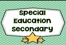 Special Education Secondary / This board is dedicated to special education at the secondary level. PLEASE PIN ONE FREEBIE AT THE SAME TIME A PRICED PIN IS ADDED. Photos of covers and products in use make the best pins, please do not pin the tiny covers from online stores, and no photos only. Thank you. / by Carolyn Wilhelm, NBCT, Wise Owl Factory