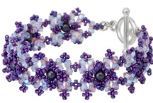 BEADED Bracelets / All of these wonders can be made at home! (They may include metal) / by Valerie Geurts