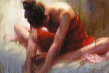 Artistic Figures / The human form in all it's glory, captured in paintings or photography. / by Marie Wise
