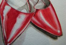 Artistic Shoes / Loving all artistic foot adornments! Oh so feminine. / by Marie Wise