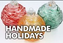 Handmade Holiday DIYs / Looking for handmade gifts, ornaments, and holiday décor?  We share tons of projects and inspiration to get you inspired for the season! / by ILoveto Create