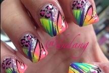 Nail Designs / All kinds of nail designs that you could imagine. Love them all! I have acrylic nails and I get them done every two weeks! This is where I get all my ideas from! / by Kaytlynn D'Agostino