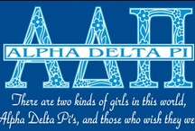 Alpha Delta Pi <> / by Naomi Coates